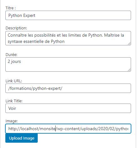 un widget de mise en avant pour wordpress